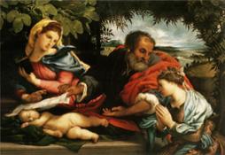 Lotto,_sacra_famiglia_con_santa_caterina_d'alessandria
