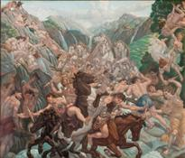 Amos Nattini  Painter of other worlds' at the Pilotta Palace, Parma