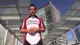 Michael Caruso gives guided tour of Nissan's global headquarters in Yokohama, Japan