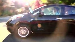 First-Ever Nissan LEAF