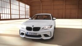 Animation BMW M2 Coupe with BMW M Performance Parts