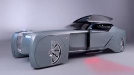 The Rolls-Royce Vision Next 100. Interior Design