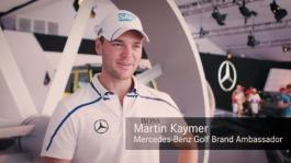 Mercedes-Benz Report Mini golf challenge with Martin Kaymer