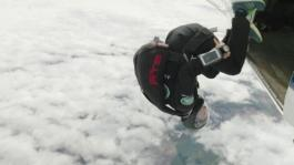 GVs Bear Grylls and Royal Navy Parachute Display Team Skydive and App Test