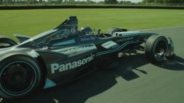 GVs Panasonic Jaguar Racing Vehicle