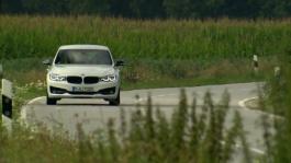 BMW 340i Gran Turismo. Driving scenes