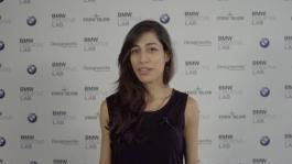 The designer Karimian Azary Nikoo (student at Politecnico di Milano)