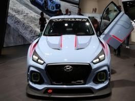 footage Hyundai i30 N Concept