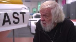 Interview John Baldessari at Paint Shop, Oxnard, BMW of North America.Artist