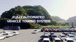 426165242 Nissan introduces driverless towing system at Oppama Plant