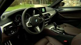 BMW M550i xDrive. Interior Design