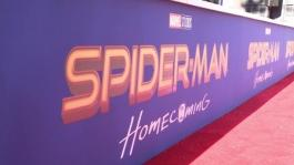 """Audi A8 at the world premiere """"Spider-Man: Homecoming"""" - Footage"""