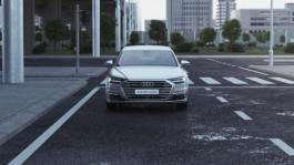 Audi A8 L e-tron - Wireless charging