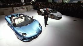 New Lamborghini Aventador S Roadster at IAA 2017, Frankfurt Motor Show