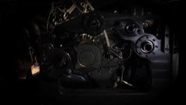 Desmosedici Stradale V4 Engine ciclo mugello