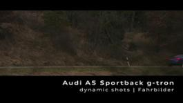 Audi A5 Sportback g-tron - Footage