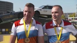 IV Erik Shuijer and Rick Torenstra Team NED Gold Medal Winners