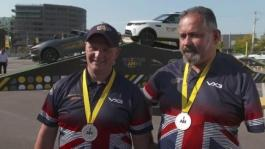 IV Olaf Jones and Gareth Paterson Team UK Silver Medal Winners