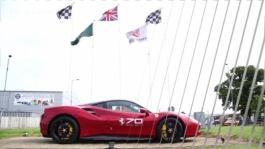 Clip Ferrari 70 Silverstone Clean Sigle e Mosca YouTube