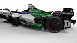 The new generation of the Formula E championship-winning car