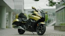 BMW K 1600 Grand America. Design