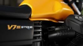 Moto Guzzi V7 III Stone footage Still life