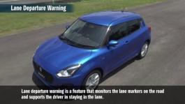 Lane Departure Warning and Weaving Alert
