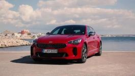 2017 Kia Stinger Review Englisch
