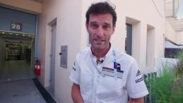 A look behind the scenes with Mark Webber