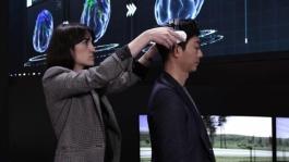 CES 2018 Nissan Brain-to-Vehicle Technology Simulator - Broll