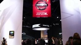 CES 2018 Nissan Booth B-roll