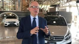 ITW Eugenio Blasetti, Press Relations and Communication Manager Mercedes-Benz Italia