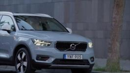 New Volvo XC40 T5 R-Design Crystal White Lifestyle Driving Footage