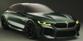 BMW Concept M8 Gran Coupe Exterior Design