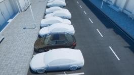 Assistance system-rear traffic alert