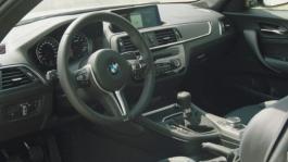Board  BMW M2 Competition. Interior Design