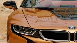 BMW i8 on Mallorca WEB