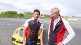 Mark Webber and Andeas Preuninger talk about the GT3 RS