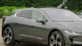JLR Wimbledon I-PACE Delivery Andy Murray Driving Nelson Piquet GVs