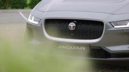 JLR Wimbledon I-PACE Delivery Car Beauty Shots GVs