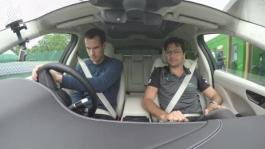 JLR Wimbledon I-PACE Delivery Andy and Nelson Carpool