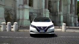 Banca immagini Statiche Esterne Nissan LEAF