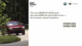 BMW X4 M40d. Country Road Driving Scenes