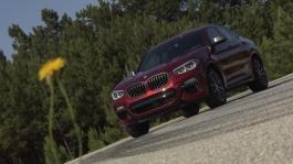 BMW X4 M40d. Design Exterior