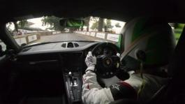 Mark Higgins on the Goodwood Speed Run