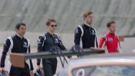 FOOTAGE Dovizioso y Lorenzo, al volante del CUPRA TCR-HD