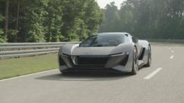 Concept car Audi PB18 e-tron Footage