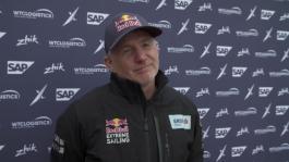 ESS Cardiff 270818 Post race IV Red Bull Roman Hagara (AUT) English+German