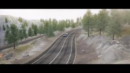 Audi A6 Avant Animation trailer assist