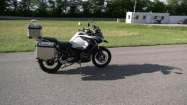 Autonomous riding R 1200 GS